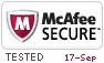 mcAfee Secure Website